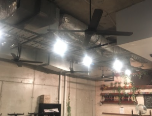 Ceiling fans installation commercial electrician brisbane commercial ceiling fans installation in brisbane unified electrical mozeypictures Choice Image
