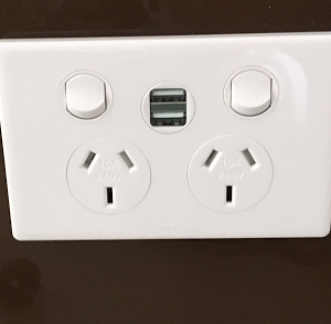 power point with USB port | Unified Electrical
