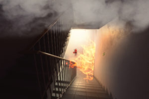 house on fire | queensland smoke alarm legislation | Unified Electrical