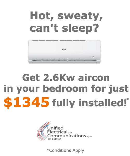 Home Air Conditioning Offer Air Con Brisbane Unified