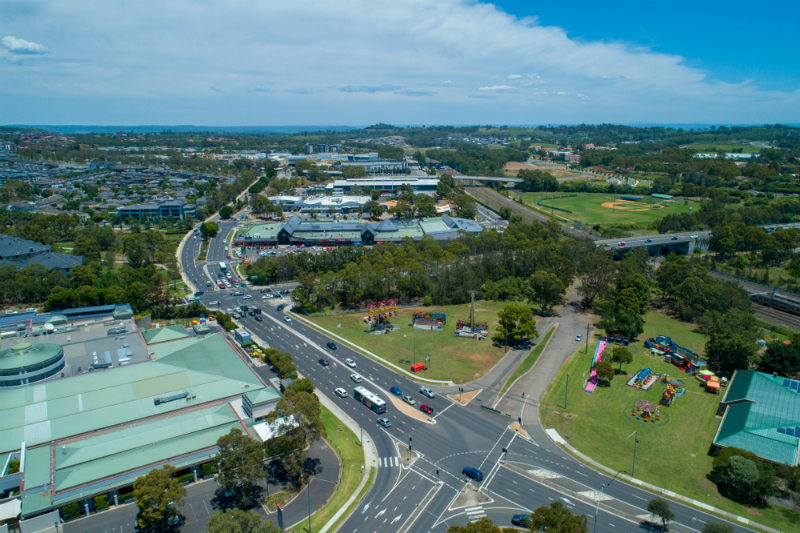 aerial view of Campbelltown | Campbelltown Electrician | Unified Electrical